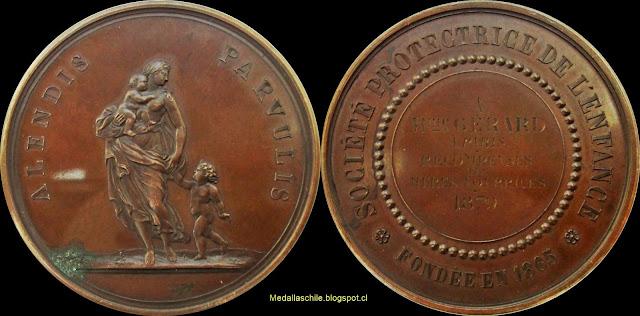 ALENDIS PARVULIS - SOCIÉTÉ PROTECTRICE DE L'ENFANCE * FONDÉE EN 1865