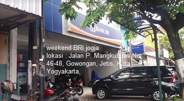 Disini Lokasi Weekend Bri Yogyakarta