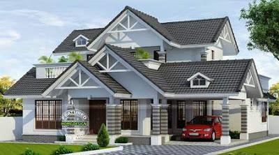 Gambar Atap Rumah Minimalis 1 & 2 Lantai Masa Kini