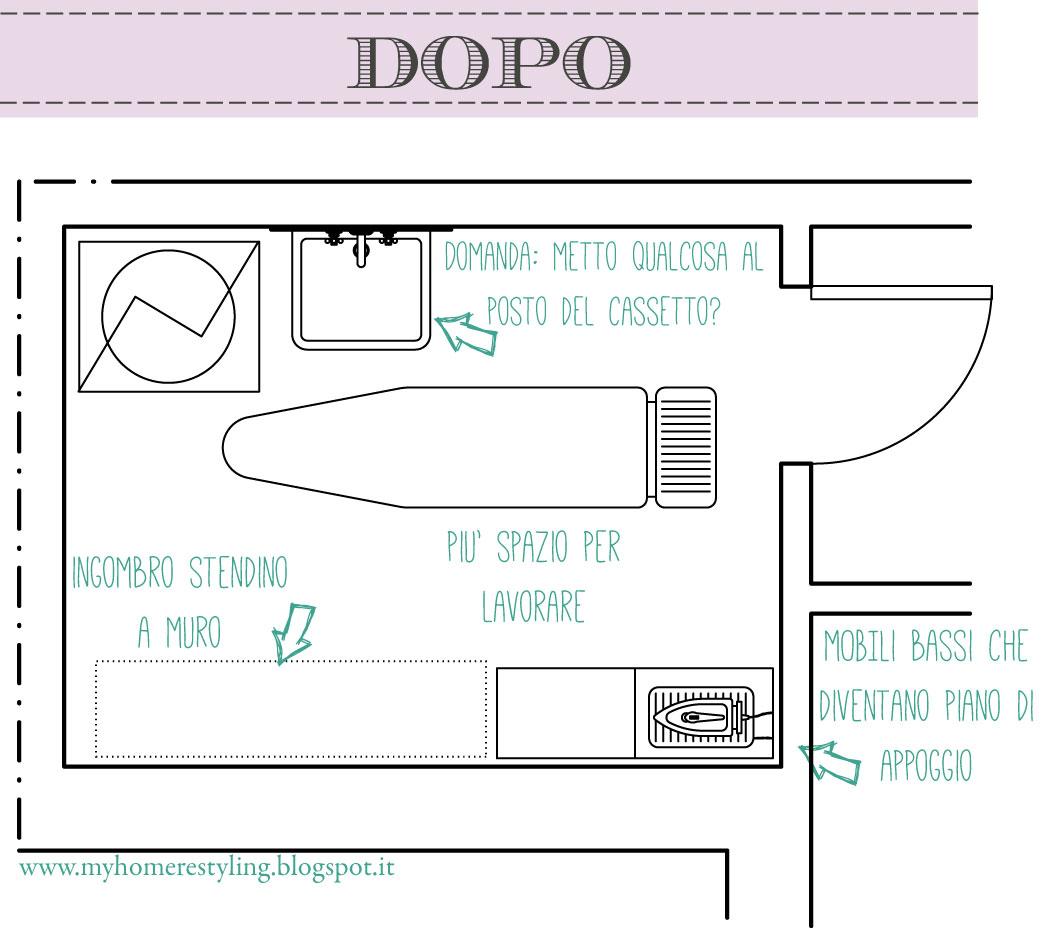COME HO ORGANIZZATO LA MIA STANZA LAVANDERIA  Studiomag Interior Design