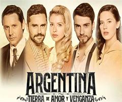 capítulo 34 - telenovela - argentina tierra de amor y venganza  - eltrecetv