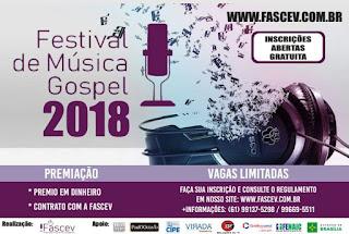 FESTIVAL DE MÚSICA GOSPEL 2018 FASCEV