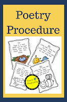 teachmagically poetry procedure poems