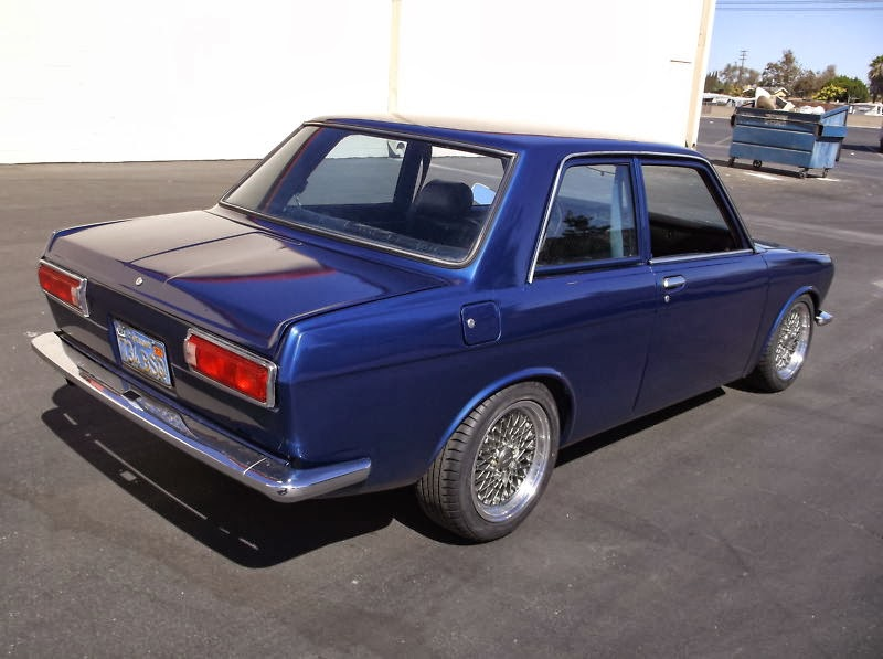 Daily Turismo: 5k: Seller Blues: 1971 Datsun 510 Rotary Power