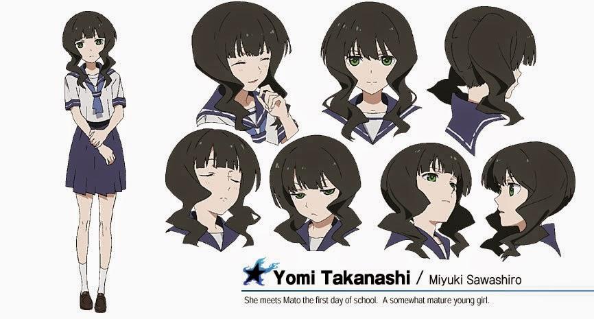 Black Rock Shooter Yomi Takanashi