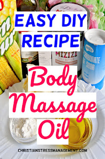 Easy DIY Recipe for Body Massage Oil