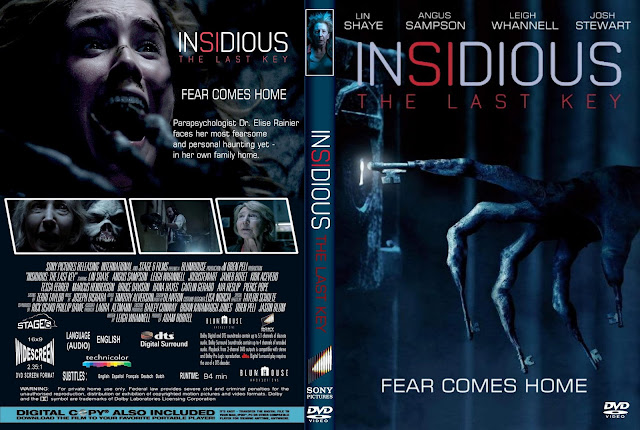 Insidious 4 The Last Key DVD Cover