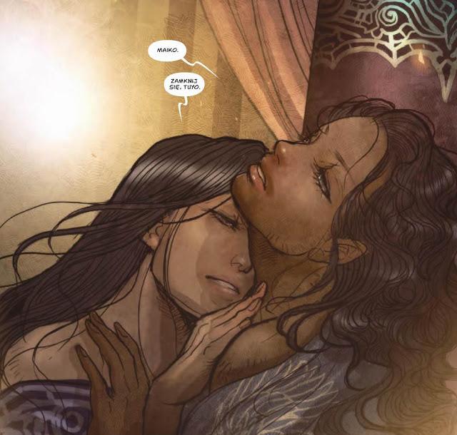 monstressa, tom 3, recenzja komiksu, Marjorie Liu, Sana Takeda, non stop comics