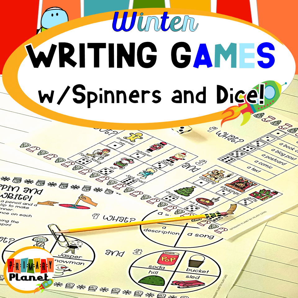 Winter Writing Games Image