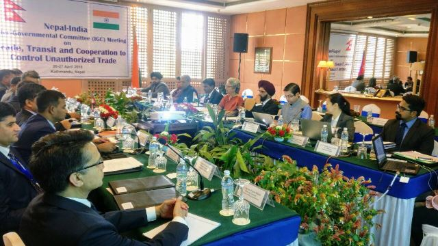 India- Nepal IGC meeting Again begin in Kathmandu