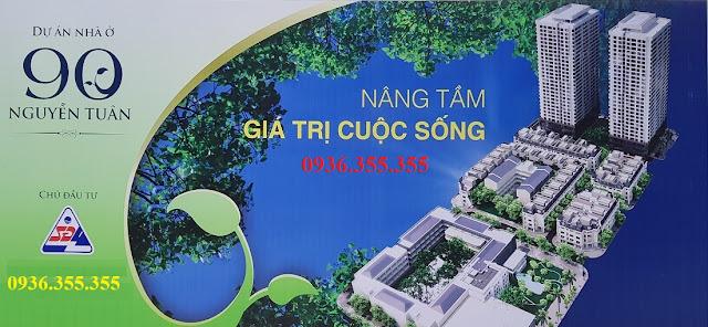 Bán liền kề 90 Nguyễn Tuân