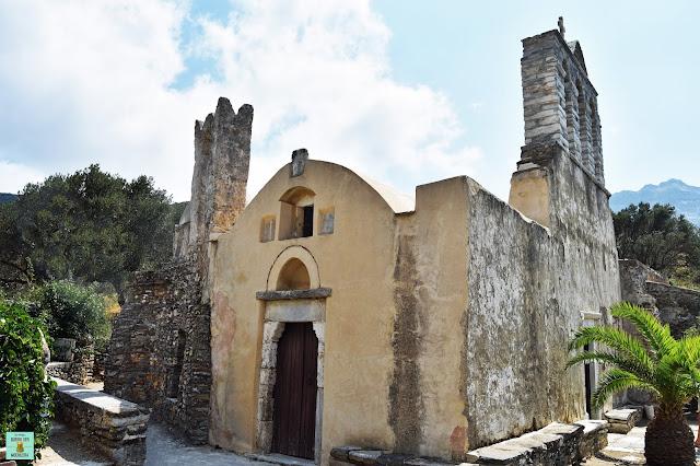 Panagia Drossiani, isla de Naxos (Grecia)