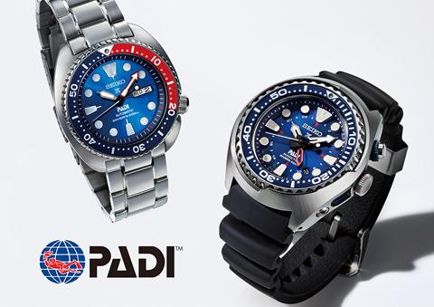 Relojes de buceo Seiko PADI