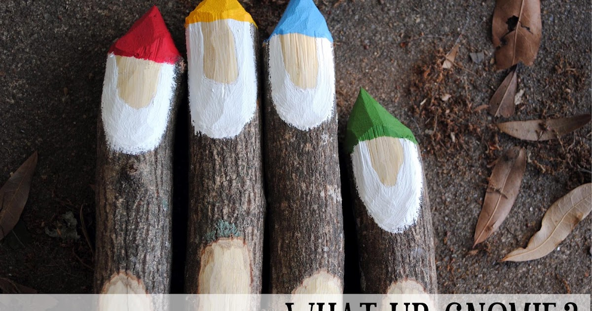 Swallow S Heart Diy Gnome Garden Markers