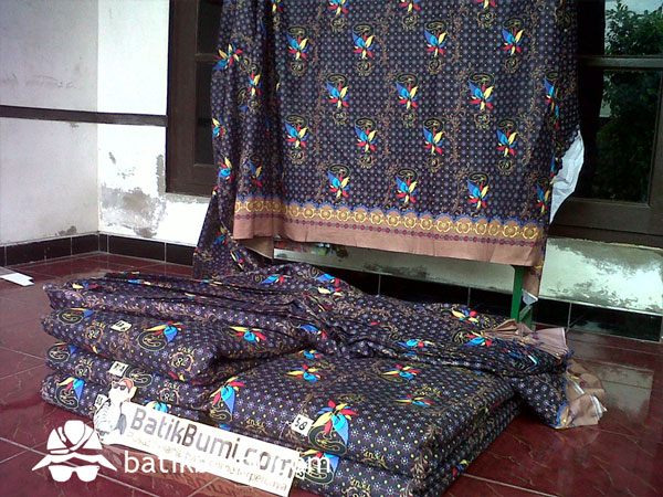 Cara Membuat Batik Printing Manual