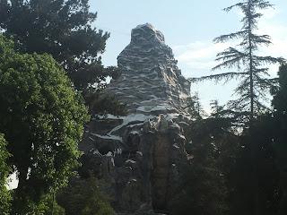 Matterhorn Bobsleds Waterfall Disneyland