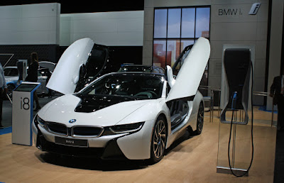 BMW I8 Top Speed Modification In Auto Show