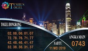 Prediksi Togel Angka Hongkong Sabtu 11 Mei 2019