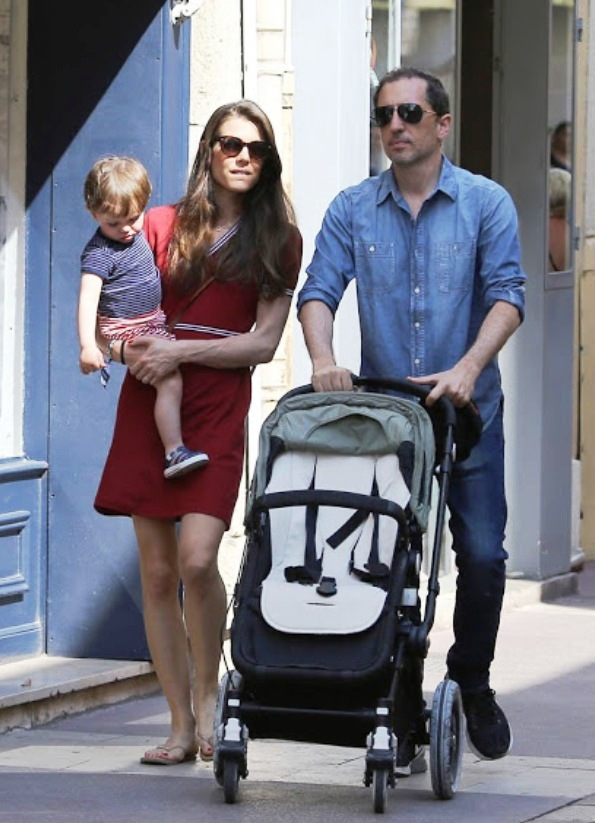 Charlotte Casiraghi And Gad Elmaleh With Raphael In Saint-Tropez