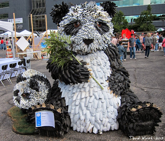 tired pandas, art prize, grand rapids, 2014