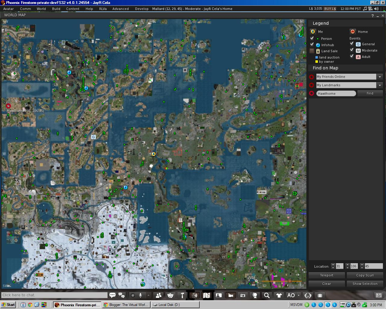 The Virtual World Technologist: SecondLife : Abandoned Land : Why