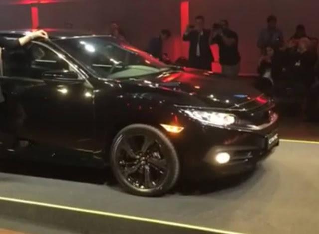 Novo Honda Civic 2017 Sport