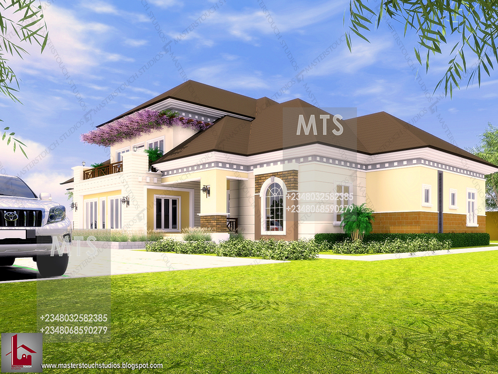 Mr spice 7 bedroom bungalow residential homes and for Studio house designs