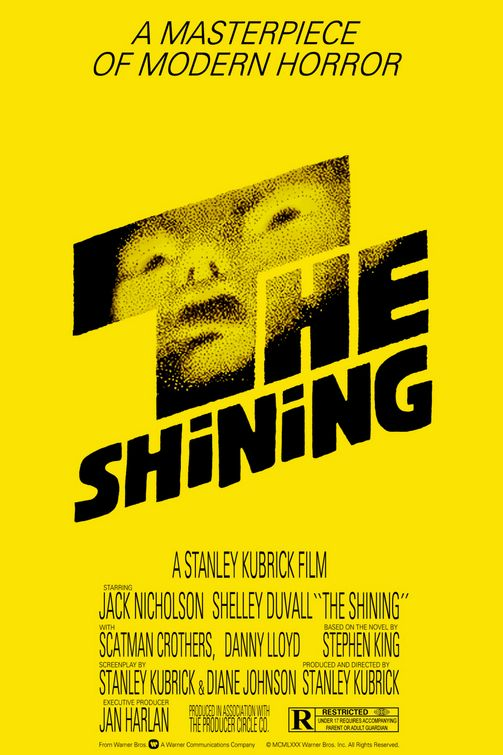 The Shining 1980 movie poster