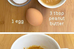 Easy 3 Ingredients Peanut Butter Mug Cake