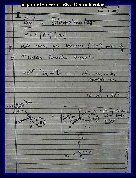 SN2 Biomolecular Org1