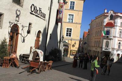 Medieval restaurant Olde Hansa in Tallinn
