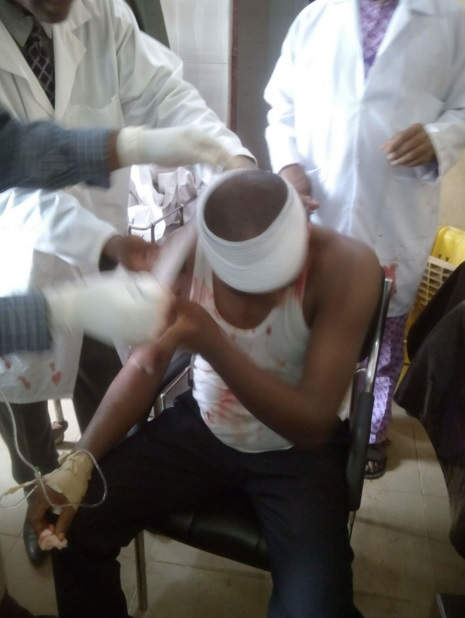 Bede Azudialo, Nigerian Doctor Shot In The Head By Imo State Police During Protest In Coma