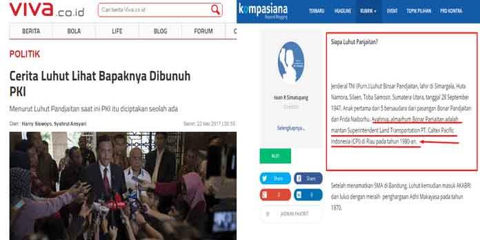Benarkah Bapak Mentri Luhut Mati Dibunuh PKI, Yuk Simak Pengakuan Iwan R Simatupang