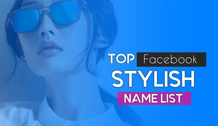 facebook stylish name for boys And girls