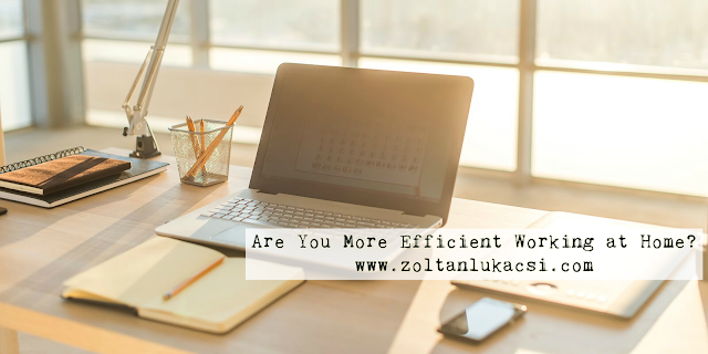 Are You More Efficient Working at Home?