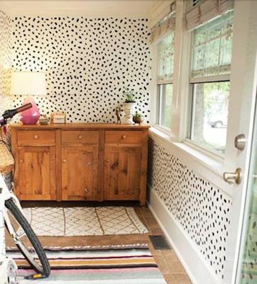 Trendspotting: Black & white spotted dalmatian print via MonicaWantsIt.com