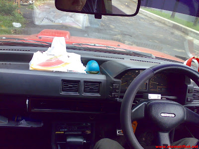 Model Interior Mobil Toyota Starlet