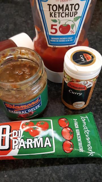 Rezept für Currywurst-Sauce mit dem Thermomix