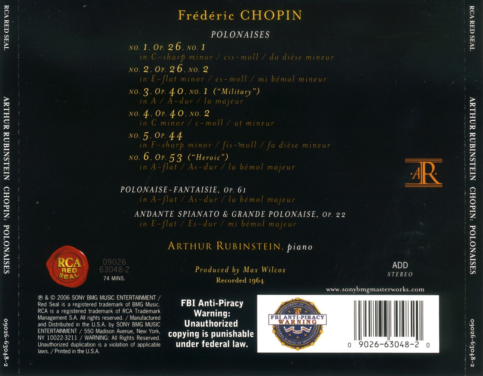 Magical Journey: Frédéric Chopin - Polonaises