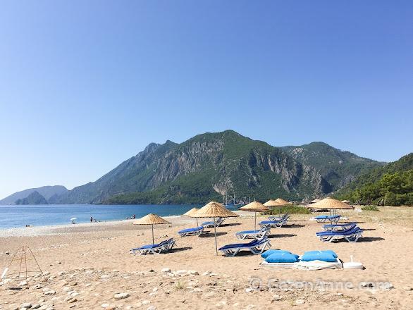 Çıralı ve Olimpos sahili, plajı, Antalya