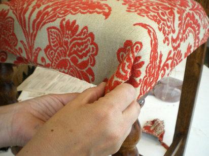 C mo tapizar una silla paso a paso ii trabajo artesanal - Tapizar una silla ...