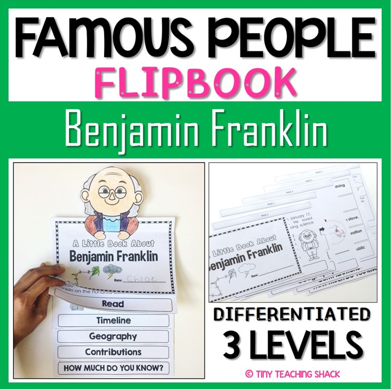 Sacagawea Famous Quotes: Tiny Teaching Shack: Famous People Flip Books