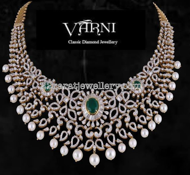 Diamond Sets by Satyanarayana Jewellers