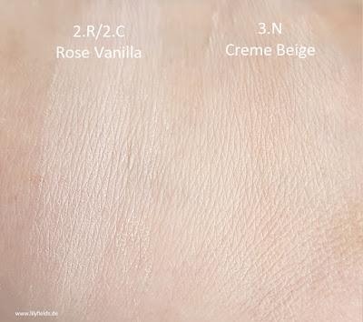 Perfect Match Minerals - 2.R/2.C und 3.N Creme Beige