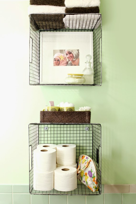 Ideas DIY para baños pequeños