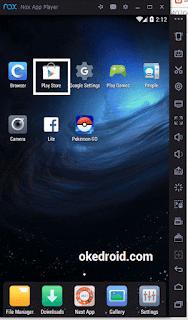 Tambahkan Akun Google di  Nox App Player