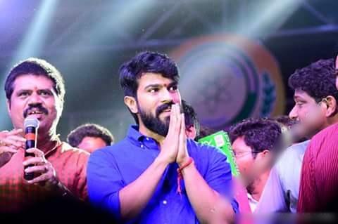 Ram Charan Speech at Avanthi College Fest in Vizag