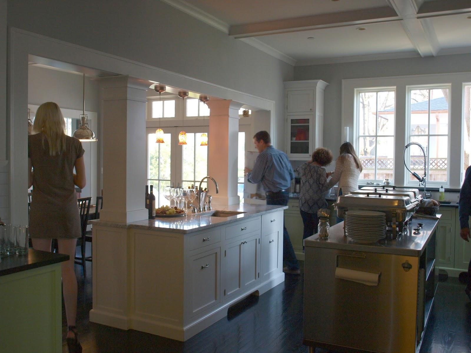 industrial kitchen island cabinets door handles farmhouse home decor {my birthday party ...
