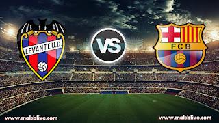 مشاهدة مباراة برشلونة وليفانتي Barcelona Vs Levante بث مباشر بتاريخ 07-01-2018 الدوري الاسباني