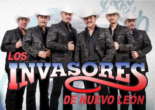 Invasores de Nuevo Leon en Palenque Feria del Caballo en Texcoco 2020 2021 2022
